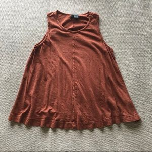 Burnt Orange Tank from Anthropologie